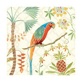 Tropical Paradise III Prints by Daphne Brissonnet