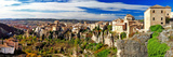 Medieval Town on Rocks Cuenca, Spain. Panorama Photographic Print by  Maugli-l
