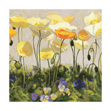 Poppies and Pansies II Posters