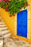 Colorful Greece Series -Symi Island Streets Photographic Print by  Maugli-l