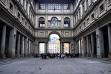 Uffizi Gallery in Florence, Italy. Prints by NejroN Photo