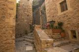 Greece Monemvasia Traditional View of Stone Houses. Poster by De Visu