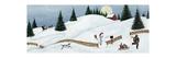 David Carter Brown - Christmas Valley Snowman Speciální digitálně vytištěná reprodukce