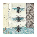 Bees n Butterflies No. I Giclee-trykk av Katie Pertiet
