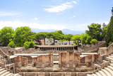 Ruins of Pompeii, Italy. Summer Day Poster by  frenta