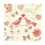 Lighthearted I Giclee Print by Daphne Brissonnet