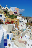 Beautiful Pictorial Santorini Prints by  Maugli-l