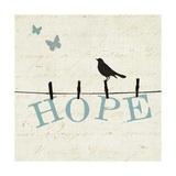 Bird Talk I Giclee Print by Jess Aiken