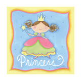 Princess Poster af Anne Tavoletti