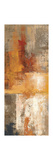Silver and Amber Panel I Giclee Print