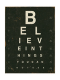 Eye Chart III Art by Jess Aiken