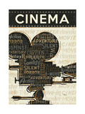 Cinema I Giclee Print by Jess Aiken