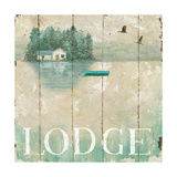 Waterside Lodge II Poster by Daphne Brissonnet
