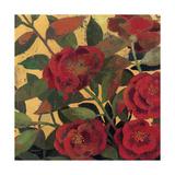 Abundant Roses I Spice Giclee Print by Kathrine Lovell