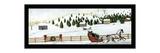 David Carter Brown - Christmas Valley Sleigh Speciální digitálně vytištěná reprodukce