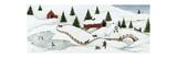 David Carter Brown - Christmas Valley Bridge Speciální digitálně vytištěná reprodukce