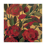 Abundant Roses II Spice Giclee Print by Kathrine Lovell