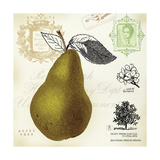 Pear Notes Prints by Sarah Mousseau