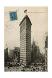 Flat Iron 1909 Prints by Hugo Wild