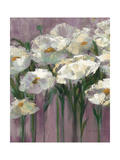 Anemones by the Lake Purple II Giclee Print