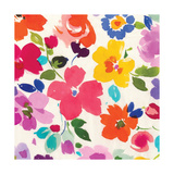 Bright Florals III Prints by Hugo Wild