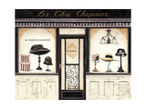 Les Chic Chapeaux Giclee Print by Emily Adams