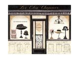 Les Chic Chapeaux Prints by Emily Adams