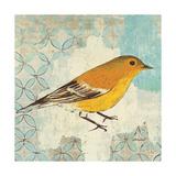 Pine Warbler Poster par Kathrine Lovell