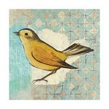 Wilsons Warbler II Affiche par Kathrine Lovell