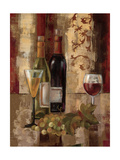 Graffiti and Wine III Reproduction procédé giclée