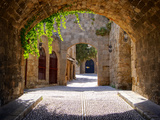 Medieval Arched Street Photographic Print by Jeni Foto