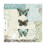 Bees n Butterflies No. 2 Giclee Print by Katie Pertiet