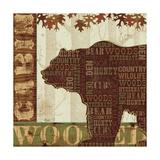 Woodland Words II Plakater af Jess Aiken
