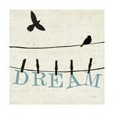 Bird Talk IV Posters by Jess Aiken