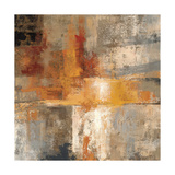 Silver and Amber Crop Giclee Print