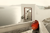 Romantic Holidays - Amazing Santorini . Artistic Toned Picture Photographic Print by  Maugli-l