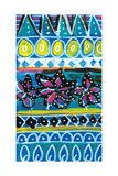 Pattern Painting Giclee Print by Linda Woods