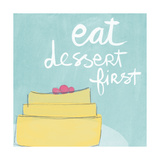 Dessert I Prints by Linda Woods