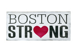 Boston Strong Poster by Holly Stadler