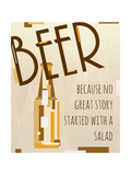 Beer, No Great Story Konst av Anna Quach