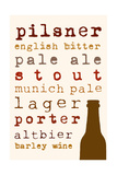 Beer I Giclee Print by Anna Quach