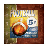 Football Card Time Plakat av Pied Piper