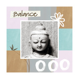 Balance Giclee Print by Linda Woods