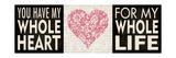 Whole Heart Lámina giclée por Stephanie Marrott