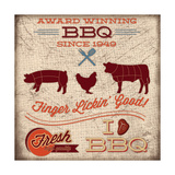 BBQ I Posters by Caitie Harris