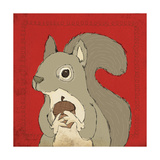 Squirrel Prints by Stephanie Marrott