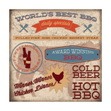 BBQ II Prints by Caitie Harris