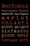 Wines Posters av Anna Quach