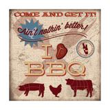 BBQ III Posters par Caitie Harris