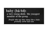 Baby Definition Giclee Print by Anna Quach